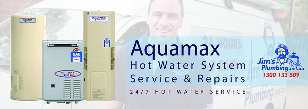Aquamax hot water system service and repair