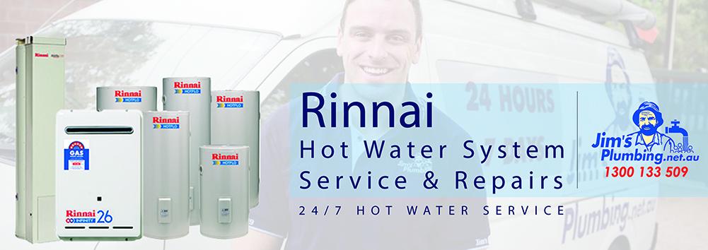 Rinnai hot water system service and repairs