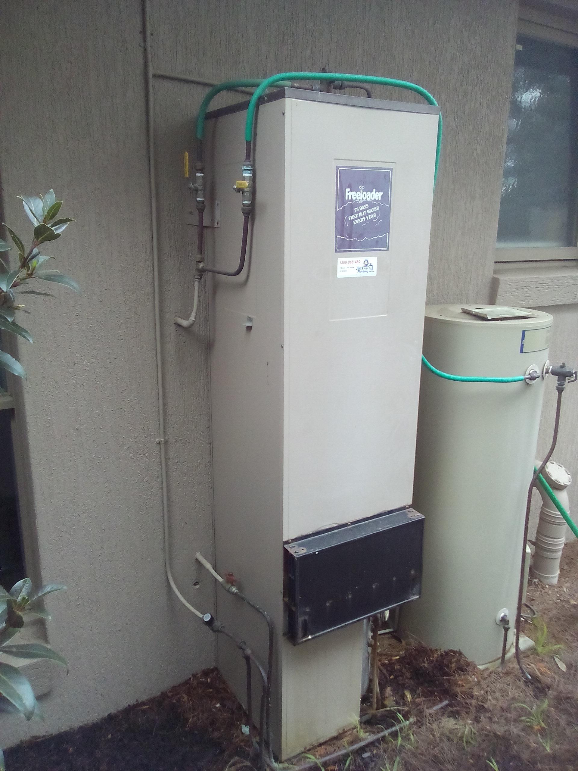 Vulcan Freeloader 185 Litre Gas Storage Hot Water Heater