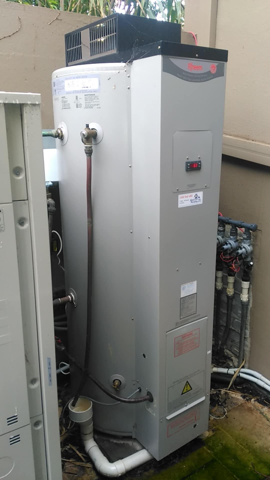 rheem 275 litre hot water system installation jim 39 s plumbing. Black Bedroom Furniture Sets. Home Design Ideas