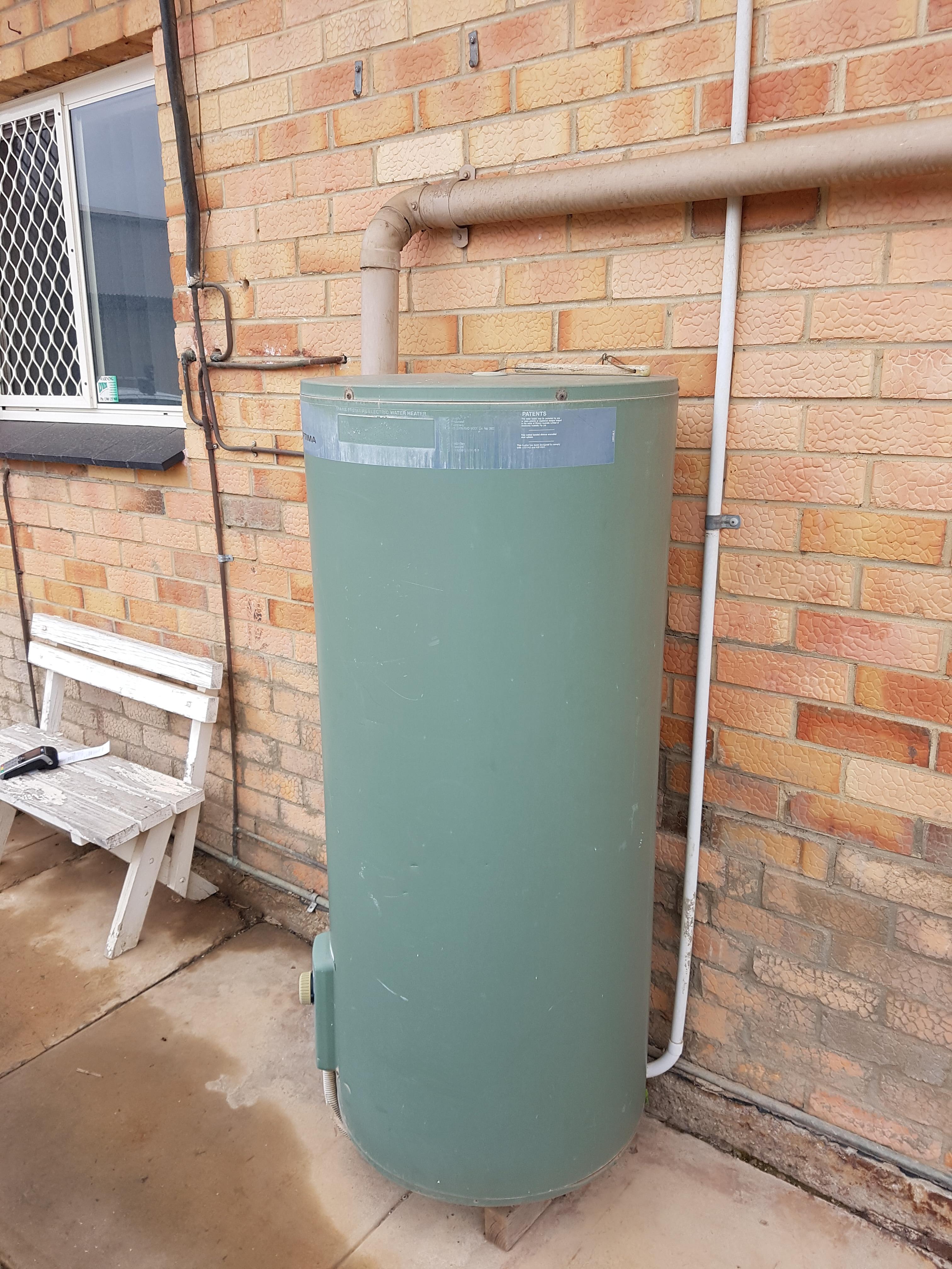 Replace Rheem Optima 250Litre Electric Storage Hot Water Tank ...