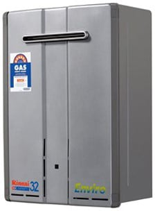 Rinnai Infinity 32 Enviro Continuous Flow Hot Water System