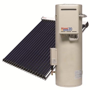 Rinnai Sunmaster Evacuated Tube Solar Hot Water System