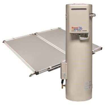 Rinnai Sunmaster Flat Plate Solar Hot Water Systems