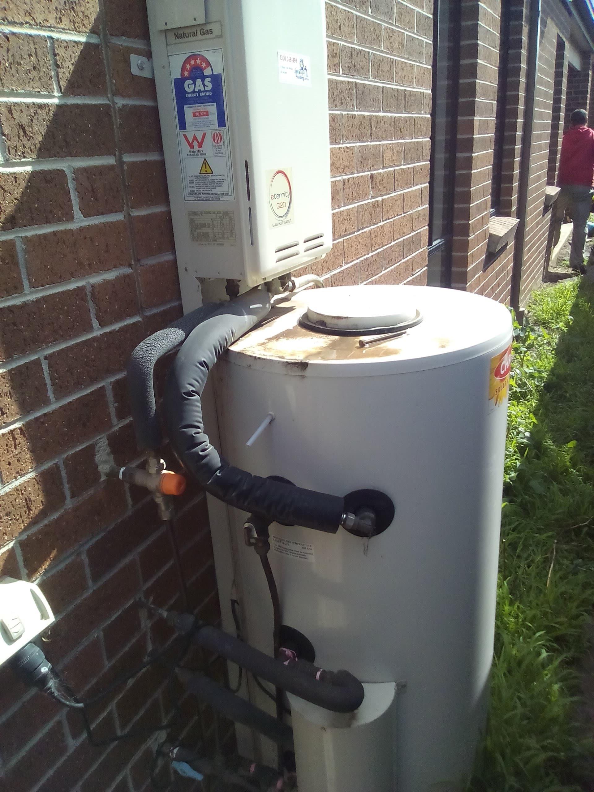 Chromagen Smartline Gas Boosted Solar Hot Water Repair