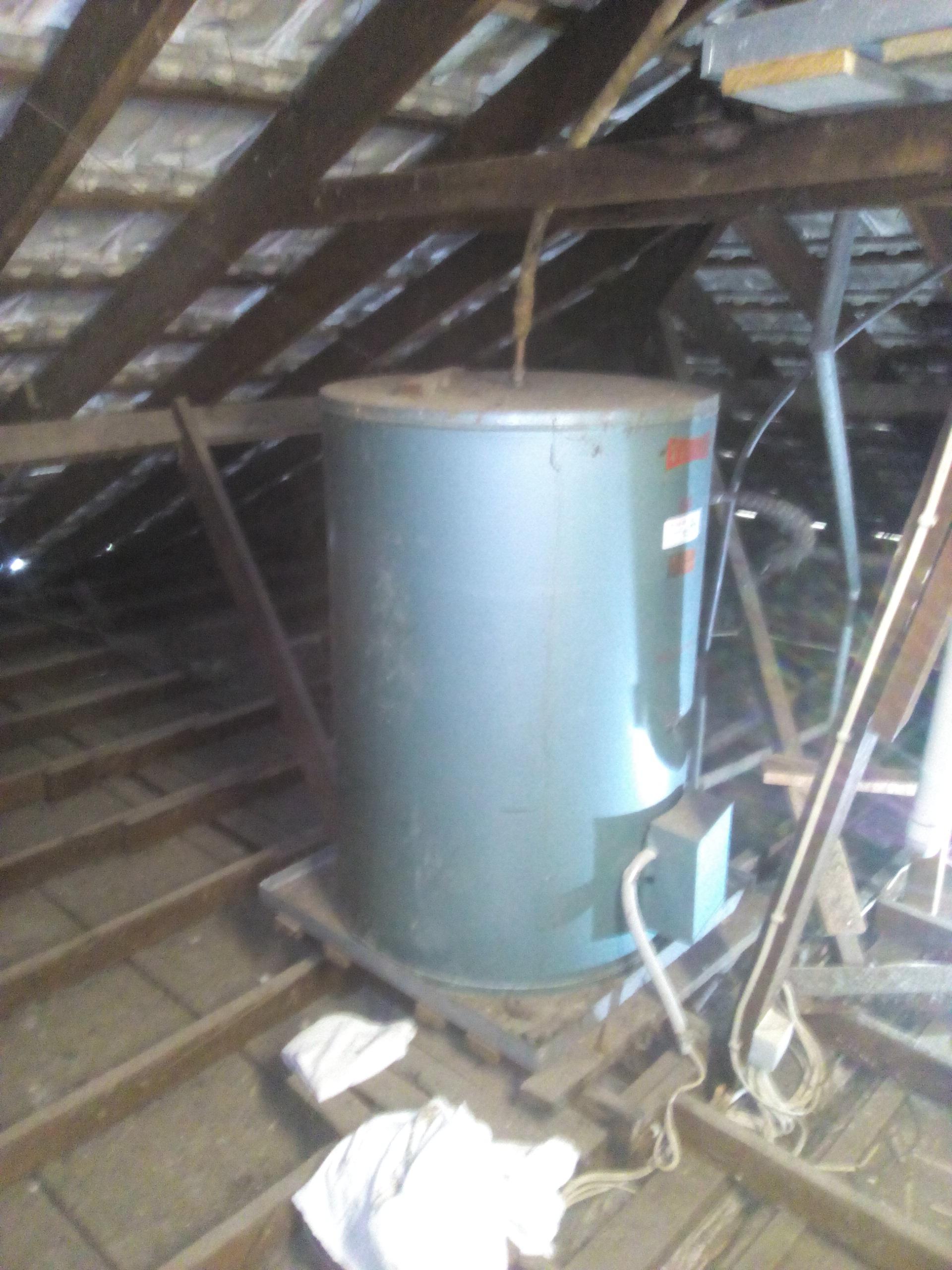 Gravity Fed, Everhot, Electric Internal, 60 Litre Hot water System ...