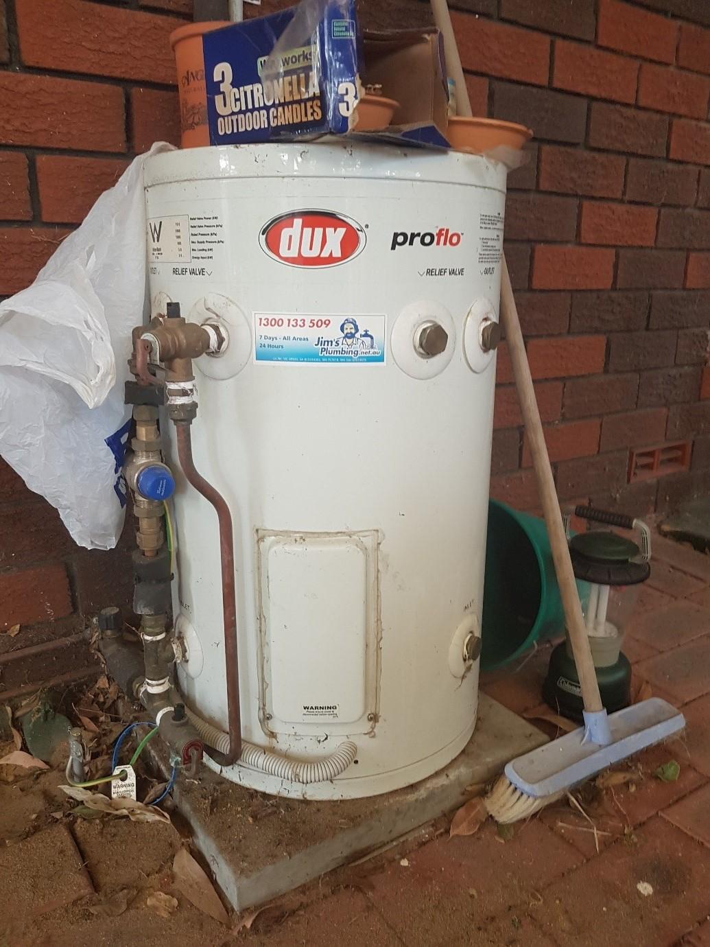 Replace Dux Proflo 50 Litre Electric Storage With Dux