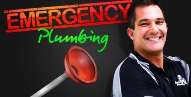 emergency plumbing with Dan