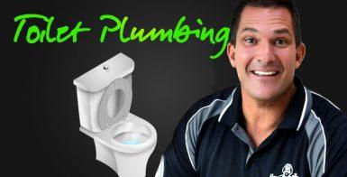 toilet plumbing with Dan
