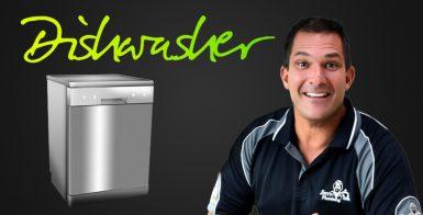 Dishwasher service with Dan